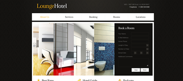 Шаблон сайта гостиницы