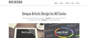Шаблон сайта студии web-разработки