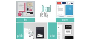 Шаблон сайта брендирования