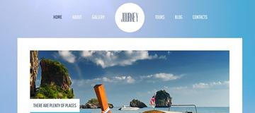 Шаблон сайта поездок