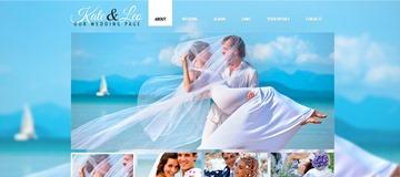 Шаблон сайта жениха и невесты