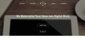 Шаблон сайта web-агентства